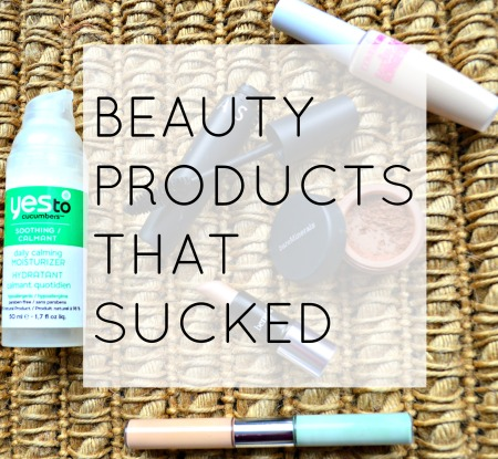 products that sucked